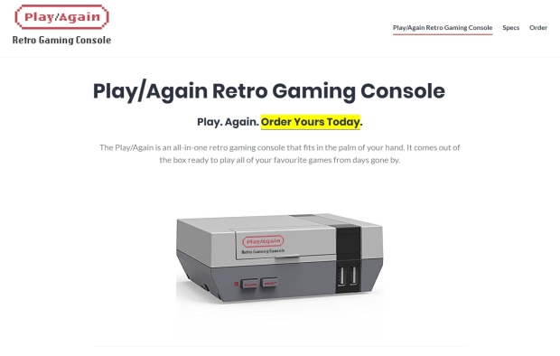 Play Again Screenshot
